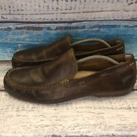 Frye Lewis Venetian $140 Men's Loafers Dress Shoes Size 13 Leather Brown