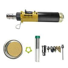 105 K 12 In 1 Gas Soldering Iron Cordless Welding Pen Butane Blow Torch Sma