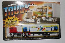 """Playart Majorette Road Champs """"Trak Cross Country SKIS"""" Semi Truck Blister Pack"""