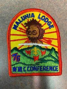 OA Maluhia Lodge 554 III C Conference 75 RED Bdr. Maui County, Hawaii [MX-7885]