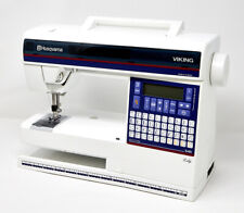 Husqvarna VIKING Lily 545 Sewing Machine Portable w/ Hard Case Cover Quilting