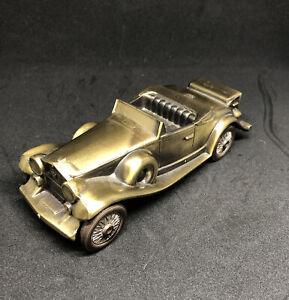 Vintage Coin BANK-1974 BANTHRICO'S Antique Autos- 1930 CADILLAC ROADSTER EUC
