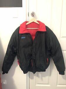 Columbia down puffer jacket vintage