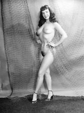Vintage Betty Page Pin Up Photo 734 Bizarre Odd Strange