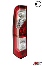 Vauxhall Opel Movano Renault Master 2010- On Rear Tail Light Lamp Left N/S E11
