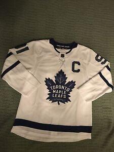 """READ DESCRIPTION"" John Tavares Toronto Maple Leafs White Adidas Authentic Jers"