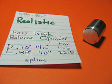 Realistic Sta-860 Stereo Receiver Bass Treble Balance Expander Knob