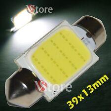2 LED Siluro 39mm COB SMD 12 Chip BIANCO Lampade Luci Lampadine Interno Targa