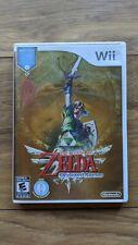 The Legend of Zelda - Skyward Sword (Nintendo Wii  2011 -25th Anniversary ) w/CD