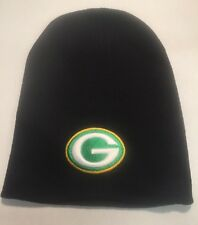 Green Bay Packers Black Beanie Winter  Hat Free Shipping