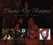THEATRES DES VAMPIRES Blackend Years 4CD BOX 2016