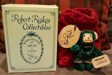 Robert Raikes Mohair Bear Jingle Wee Whittles Limited Edition
