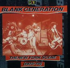 CD Blank génération-the new york scene 1975 - 78