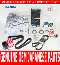 FACTORY NEW LEXUS LS400 OEM COMPLETE TIMING BELT KIT W/ WATER PUMP & DRIVE BELT