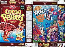 1998 Cocoa Pebbles Cereal Box s319