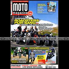 MOTO MAGAZINE N°289 KAWASAKI W800 TRIUMPH 900 SCRAMBLER 1050 SPEED TRIPLE R 2012