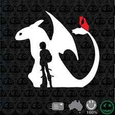 Toothless Hiccup Sticker Decal 160mmW Laptop tablet Car Console Cartoon Movie