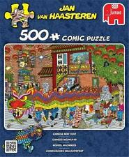 JUMBO JIGSAW PUZZLE CHINESE NEW YEAR JAN VAN HAASTEREN 500 PCS COMICS #19031