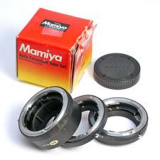 Mamiya NC-Zwischenringe * macro ring set * extension tubes