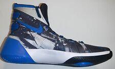 NEW Nike Hyperdunk 2015 PRM Zoom Air Sz 11 Men's White/Blue-Black High-Top