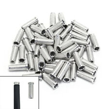 50X Aluminium Insert Fit Iner Diatmeter 6.2mm Carbon Arrows Shaft For Hunting JR