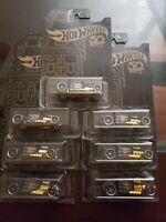 2018 Hot Wheels Black & Gold Series Bone Shaker 1/6 lot of 7