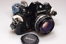 NIKON EM 35mm SLR CAMERA WITH 50mm 1:1.8 LENS L@@K