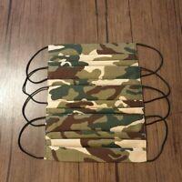Muundmaske Baumwolle Washbar Militar Camoflage, Handmade, Alltagsmaske