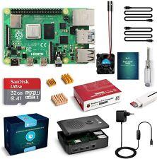 Raspberry Pi 4 Model B 4GB starter kit: 32GB SD, case, fan, power supply & more