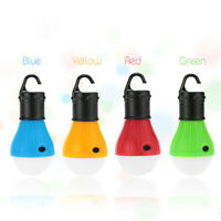 4 Pack Portable Camping Tent Light Bulb LED Outdoor Hanging Fishing Lantern Lamp