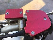 Red Throttle And Brake Cover for Kawasaki KfX 450R 08-17