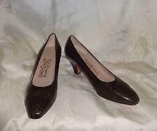 NWOB - Salvatore Ferragamo at Saks Fifith Avenue Brown Pumps Shoes Size: 7B
