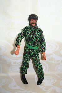poupée GI Joe, habit de camouflage années 70