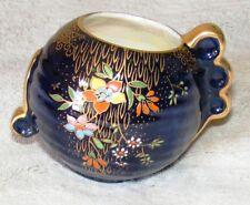 Stunning Vintage 1930's Crown Devon Hand Painted 2 Handled Vase Superb Example
