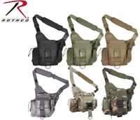 Tactical Hipster Bag Sling Army Camo Shoulder Pack Crossbody Travel Bag Rothco