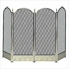 Miraculous Uniflame Brass Fireplace Screens Doors For Sale Ebay Download Free Architecture Designs Photstoregrimeyleaguecom