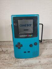 Nintendo Gameboy Color Teal CGB-001 Handheld Game System Works perfect