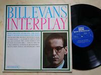 Bill Evans Interplay Megarare US 1962 Riverside Label Mono LP Rpl 445
