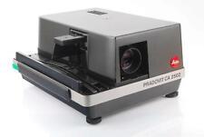 Leica Leitz Pradovit ca2502 PROIETTORE DIAPOSITIVE 90mm 2,5 Colorplan