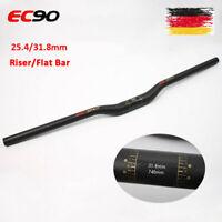 EC90 3K Matt Carbon MTB Lenker 31.8mm 660-760mm Fahrrad MTB Flacher/Riser Bar