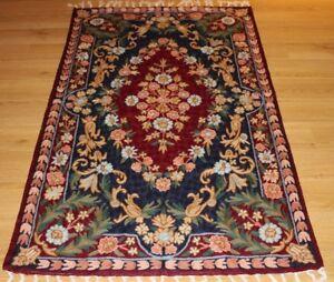Large Persian Handmade Silk Rug Carpet Runner,Oriental Home Floor Decor Area