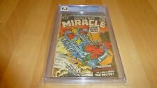 Mister Miracle 6 CGC 9.2 (1972, DC Comics) WHITE Pages! 1st Female Furies Kirby!