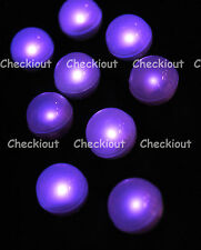 48 LED Purple Mini Fairy Lights Waterproof Floating Ball Party Wedding Decor