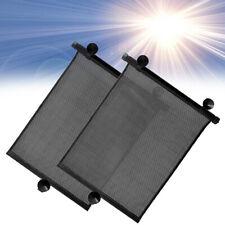 Retractable Car Side Window Baby Sunshade Shield Covers Roll Curtain Visor