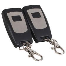 315MHz 1 Ch RF Wireless Remote Control Garage Door Keyless Entry Pack Of 2