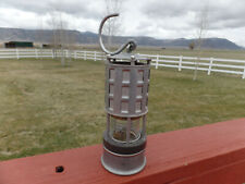 Vintage Msha No. 209-15 Koehler Coal Miner Safety Lamp Light Usa