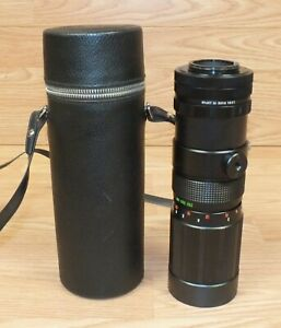 Vintage Sears Tele Zoom F:45 90 230mm Long Camera Lens With Case **READ**