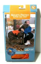 Kurgo XL Reflect & Protect Active Hunting Orange Dog Vest PVC BPA Free