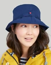 Joules Womens Coast Showerproof Rain Hat - FRENCH NAVY in One Size