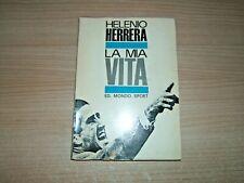 LIBRO CALCIO=HELENIO HERRERA=LA MIA VITA=1964=ED.MONDO SPORT